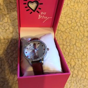 Betsey Johnson Accessories - Betsy Johnson Wine Watch NIB